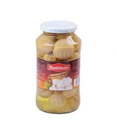 Ciupercile întregi marca Roddson în borcane de 720ml, importate din Polonia, sunt atent selecționate și preparate pentru a vă oferi materie primă de cea mai bună calitate pentru toate rețetele voastre favorite cu ciuperci.