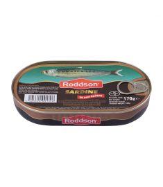 Sardine în sos tomat Roddson în cutie de 170 grame, este un produs din gama premium, delicios și sănătos, produs în Bulgaria. Produs sterilizat.