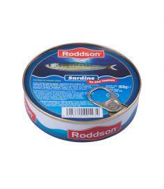 Sardine în sos tomat Roddson în cutie de 160 grame, este un produs din gama premium, delicios și sănătos, produs în Bulgaria. Produs sterilizat.
