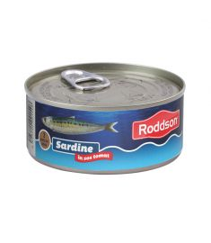 Sardine în sos tomat Roddson în cutie de 300 grame, este un produs din gama premium, delicios și sănătos, produs în Bulgaria. Produs sterilizat.