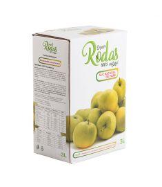 Suc mere Rodas 3L. Sucurile Rodas sunt obținute prin presare la rece din fructe și legume proaspăt culese și atent selecționate.